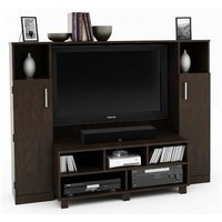 Ameriwood Entertainment Center with TV Mount for 42 in. TVs (Black) 1619012PCOM