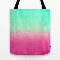 SUNNY MELON Tote Bag by Monika Strigel | Society6