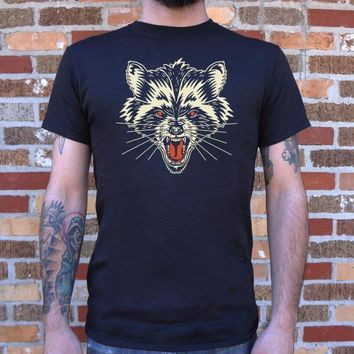 Mens Raccoon Rage T-Shirt