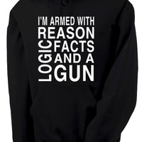 Reason Logic Facts and a Gun Hoodie