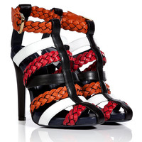 Vionnet - Leather Colorblock Sandals