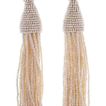 Oscar de la Renta Long Tassel Drop Earrings | Nordstrom