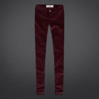 Hollister Velvet Jeggings
