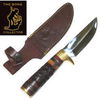 Bone Collector Bone Handle Hunting Knife BC796