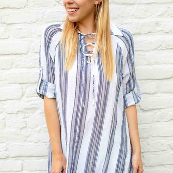 Island in the Sun Stripe Tunic
