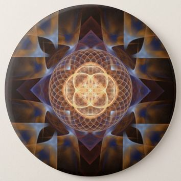 Sacred Geometry Button