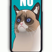 iPhone 6S Case - Hard (PC) Cover with Cactus the Cranky Cat  Plastic Case Design
