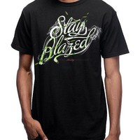 MEN'S STAY BLAZED SCRIPT TEE