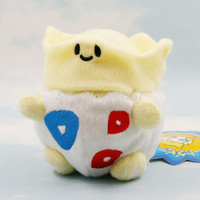 Togepi 1pcs 6'' Pokemon Plush Toy plush Cute Soft Stuffed Animal Doll Kid Gift