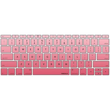 "Macally 12"" Macbook 2015 Edition Keyboard Protector (pink)"