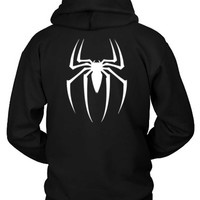 Spiderman Basic Logo Hoodie Two Sided