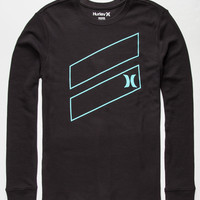 Hurley Icon Slash Mens Thermal Black  In Sizes