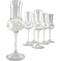 Bormioli Rocco Riserva Grappa Glasses, Set of 6