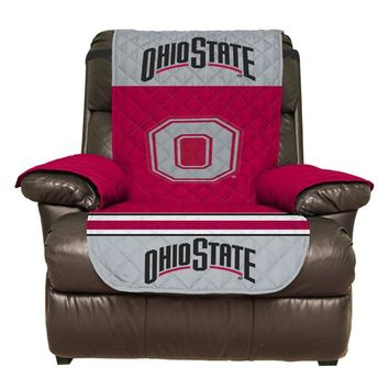 Ohio State Buckeyes Recliner Furniture Protectors With Elastic Straps