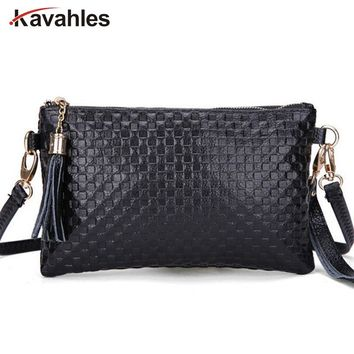 2018 New Arrival Genuine Leather Women Bag Tassel Women Messenger Bags Cowhide Leather Women Clutch Shoulder Bags A40-121