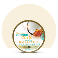 Have you tried coconut curls curling hair butter?