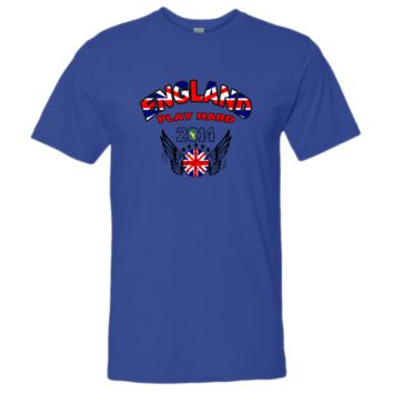 WORLD CUP england PLAY HARD 2014 tshirt