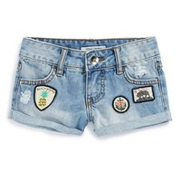 Girl's Billabong 'Radical Sun' Roll Cuff Shorts