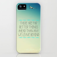 Better Things iPhone Case by Galaxy Eyes