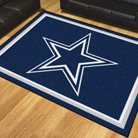 Dallas Cowboys 8x10 Rug