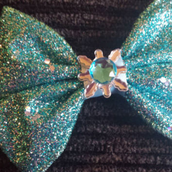 Snow Queen inspired bow
