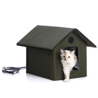 K&H Waterproof Outdoor Heated Kitty House