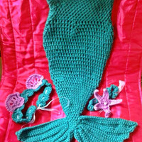 My little mermaid tail photo prop, costume, outfit 12-24 months