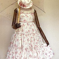 Mary Magdalene » Jumper Skirt » Rose Garden Sundress