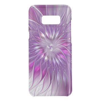 Pink Purple Flower Passion Abstract Fractal Art Get Uncommon Samsung Galaxy S8 Plus Case