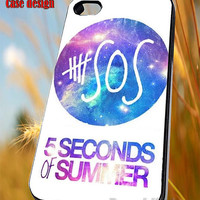 Five Seconds Of Summer 5SOS Nebula Galaxy Cycle  for iPhone 4/4S/5/5S/5C Case, Samsung Galaxy S3/S4/S5 Case, iPod Touch 4/5 Case