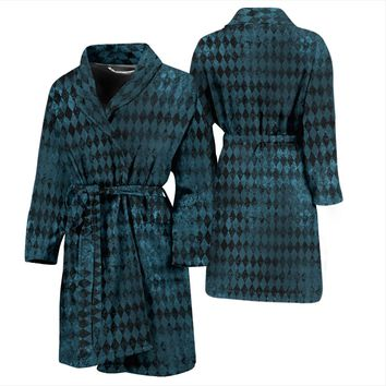 Men's Robe - Blue Diamond
