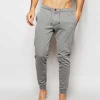 ASOS Skinny Joggers With Fly Zip Button Detail
