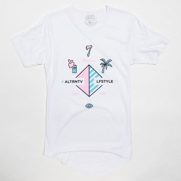 SP7 Alternative Lifestyle Cult Drop Tail Tee