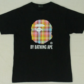 A Bathing Ape T Shirt BAPE Bathing Ape Vintage Made in Japan