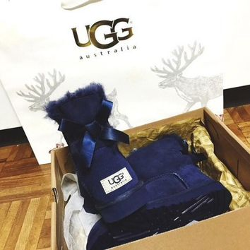 UGG Women Trending Fashion Wool Snow Boots-7