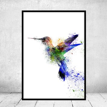 Minimalist bird fine art print, bird wall art, bird watercolor painting art, minimalist modern bird giclee print - 47