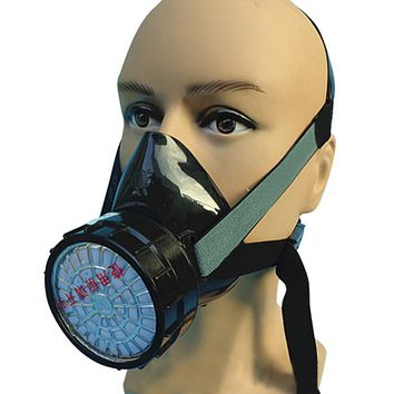 Respirator Carbon Filtered Protective Gas Mask