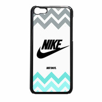Nike Just Do It On Pink Sparkle Glitter iPhone 5c Case