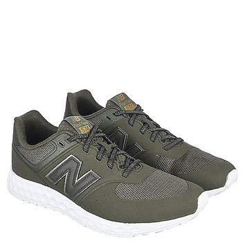 New Balance 574 Men's Green Athletic Running Shoes | Shiekh Shoes