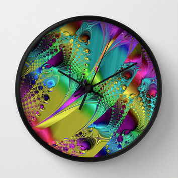 Colorful Wall Clock.