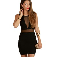 Run This Black Bodycon Dress
