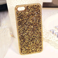 3D Hi-Q Luxury Bling Rhinestone Hard cover pretty phone case for iphone 5 5S case