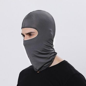 Outdoor Sports Neck Face Mask Winter Warm Ski Snowboard Wind Cap Police Cycling Balaclavas Motorcycle Face Mask party dance mask