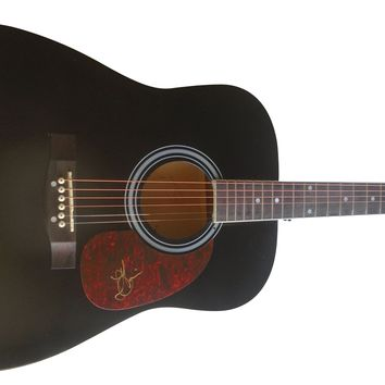 Josh Gracin Autographed Full Size 41 Inch Country Music Acoustic Guitar, Proof Photo