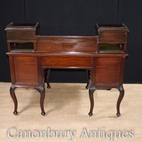 Canonbury - French Ladies Desk Mahogany Bureau du Dame Empire