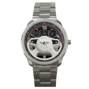 2011 Bentley Mulsanne 46 Steering Wheel Sport Metal Watch