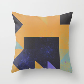 Comfort ZOne Throw Pillow by duckyb
