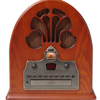 Cathedral Radio w/ CD Player design by Crosley