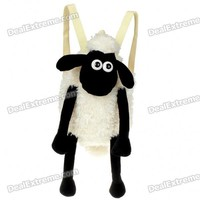 Cool Shaun the Sheep Style Wool Shoulder Bag - Free Shipping - DealExtreme