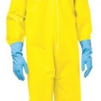 Breaking Bad Walter White Walt Hazmat Yellow Suit Jumpsuit Costume